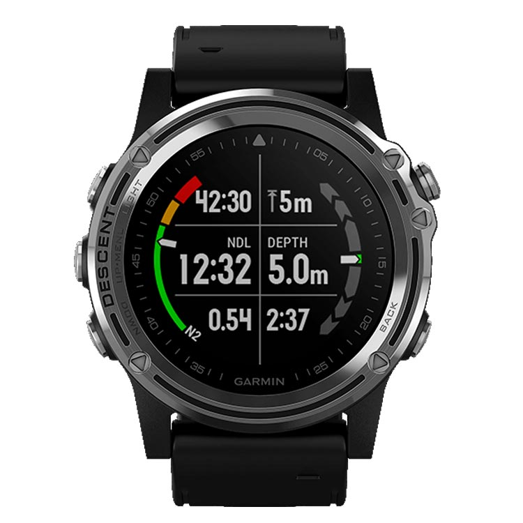 4f205d0e6f ... 【GARMIN(ガーミン)】Descent Mk1 ダイブコンピューター GPS内蔵 充電式 ...