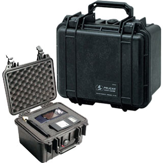 【PELICAN】ペリカンケース PC-1300 Small Cases 防塵防水スモールケース/フォーム付き