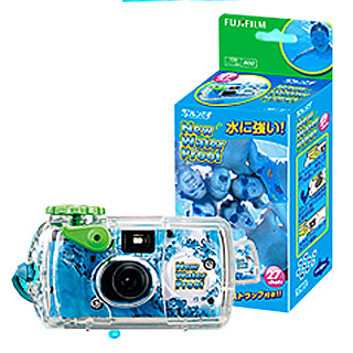 【FUJIFILM】写ルンです New Water Proof