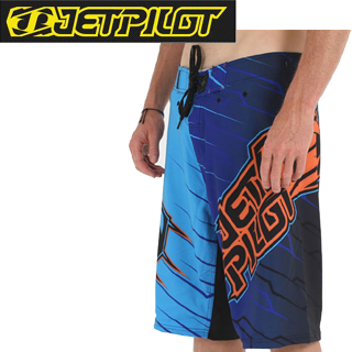 【JETPILOT】ジェットパイロット 2014年モデル S13931 IMMERSED MENS 3 IN 1 RIDESHORT (Blue)