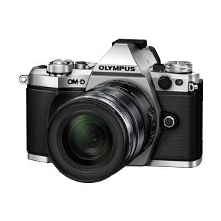 【OLYMPUS】OM-D E-M5 Mark�U 12-50mm EZレンズキット(シルバー)