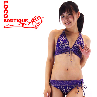 【LOCO BOUTIQUE】ロコブティック MJF02610 Coral Royal Purple