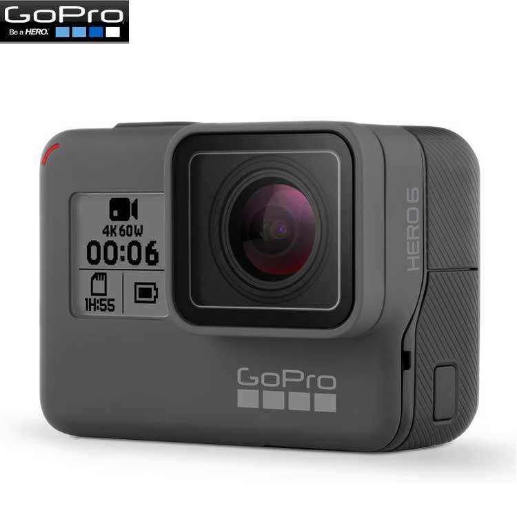 【ダイブハウジングプレゼント付き♪】【GoPro】ゴープロ HERO6 Black ウェアラブルカメラ CHDHX-601-FW 【国内正規品】