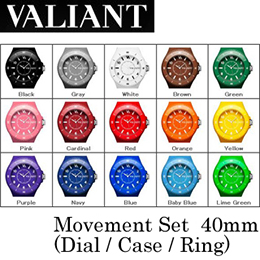 【VALIANT】ヴァリアント WATCH ウォッチ Movement Set (Dial+Case+Ring) 40mm