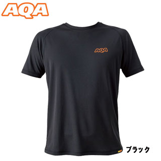 [AQA] KW-4453 power dry rush T-shirt men black [inventory clearance / returned goods exchange impossibility]