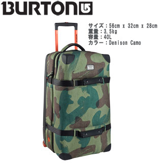 【BURTON】14945101 Wheelie Flight Deck  【40L】