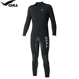 [GULL] GW-6550A 5mm wet suit men [mat black] [inventory clearance / returned goods exchange impossibility]