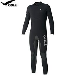 【GULL】GW-6550 A 5 mm잠수복 맨즈[매트 블랙]【재고 일소/반품 교환 불가】