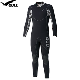 [GULL] GW-6550A 5mm wet suit men [CAMO SUMIKURO] [inventory clearance / returned goods exchange impossibility]
