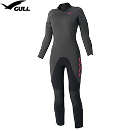 [GULL] GW-6551A 5mm wet suit women [mat black] [inventory clearance / returned goods exchange impossibility]