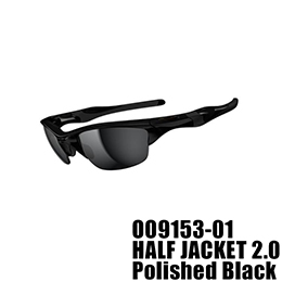 【OAKLEY(オークリー)】OO9153-01 HALF JACKET 2.0 [Polished Black]