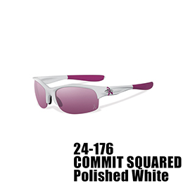 【OAKLEY(オークリー)】24-176 COMMIT SQUARED BREAST CANCER AWARENESS EDITION [Polished White]