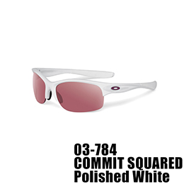 【OAKLEY(オークリー)】03-784 COMMIT SQUARED [Polished White]