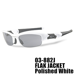【OAKLEY(オークリー)】03-882J FLAK JACKET [Polished White]