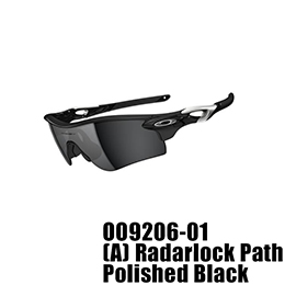 【OAKLEY(オークリー)】OO9206-01 RADARLOCK PATH [Polished Black]
