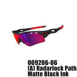 【OAKLEY(オークリー)】OO9206-06 RADARLOCK PATH [Matte Black Ink]