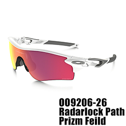 【OAKLEY(オークリー)】OO9206-26 RADARLOCK PATH PRIZM FIELD [Polished White]