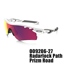 【OAKLEY(オークリー)】OO9206-27 RADARLOCK PATH PRIZM ROAD [Polished White]