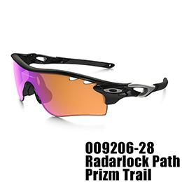 【OAKLEY(オークリー)】OO9206-28 RADARLOCK PATH PRIZM Trail [Polished Black]
