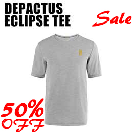 【DEPACTUS】ディパクタスECLIPSE TEE [LIGHT HEATHER] 【在庫一掃返品交換不可】【まとめてお得!】