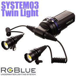 【RGBlue】水中ライト RGBlue System03 Twin Light