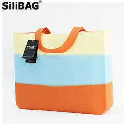 【GROW】SiliBAG New 3 Tone Horizontal Multi-Color