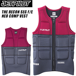 【JETPILOT】ジェットパイロット JA6281C 2017年モデル THE RECON SEG F/E NEO COMP VEST [BURG/CHAR]
