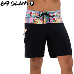 【69SLAM】Mens BOARDSHORTS SIMON 4WAYS [BOARDSLIDE]