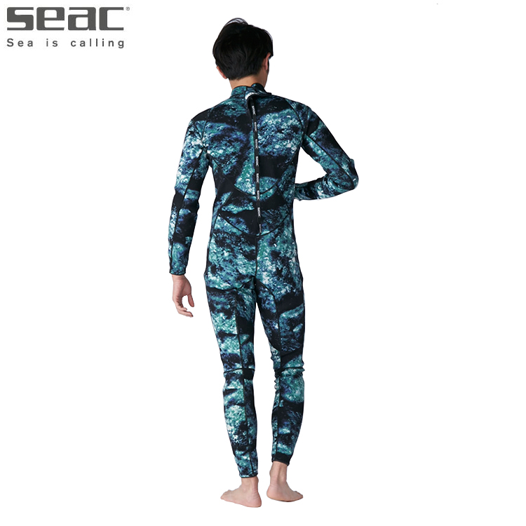 [ SEAC ] BODY FIT CAMO 1.5mm ウエットスーツ