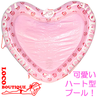 【LOCO BOUTIQUE】ロコブティック MKT00304 LB HEART SHAPE POOL