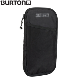 [ BURTON ] CO-PILOT TRAVEL CASE TRUE BLACK TRIPLE RIPSTOP NA トラベルポーチ 15302100 011NA