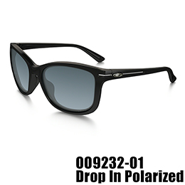 【OAKLEY(オークリー)】OO9232-01 DROP IN POLARIZED [Polished Black]