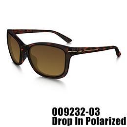 【OAKLEY(オークリー)】OO9232-03 DROP IN POLARIZED [Tortoise]