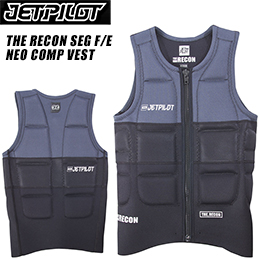 【JETPILOT】ジェットパイロット JA6281C 2017年モデル THE RECON SEG F/E NEO COMP VEST [CHAR/BLACK]