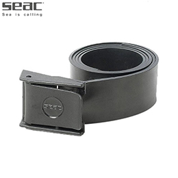 [ SEAC ] RUBBER BELT WITH NYLON BUCKLE