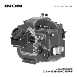 [ INON ] X-2 for  EOS80D VC 45VF-II [45°ビューファインダー2仕様]