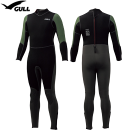 [ GULL ] 既製 5mm ウェットスーツ メンズ GW-6632 REDY-MADE 5mm WET SUITS GW6632