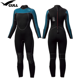 [ GULL ] 既製 5mm ウェットスーツ ウィメンズ GW-6633 REDY-MADE 5mm WET SUITS WOMEN'S GW6633