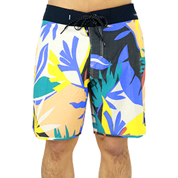 【QuikSilver】HIGHLINE TROPICAL FLOW 18インチ ボードショーツ [WBK6]