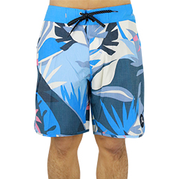 【QuikSilver】HIGHLINE TROPICAL FLOW 18インチ ボードショーツ [BMM6]